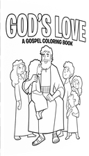 God's Love Coloring Book
