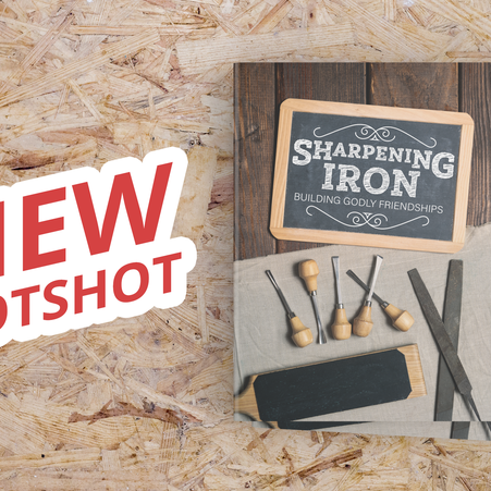Now Available: Sharpening Iron