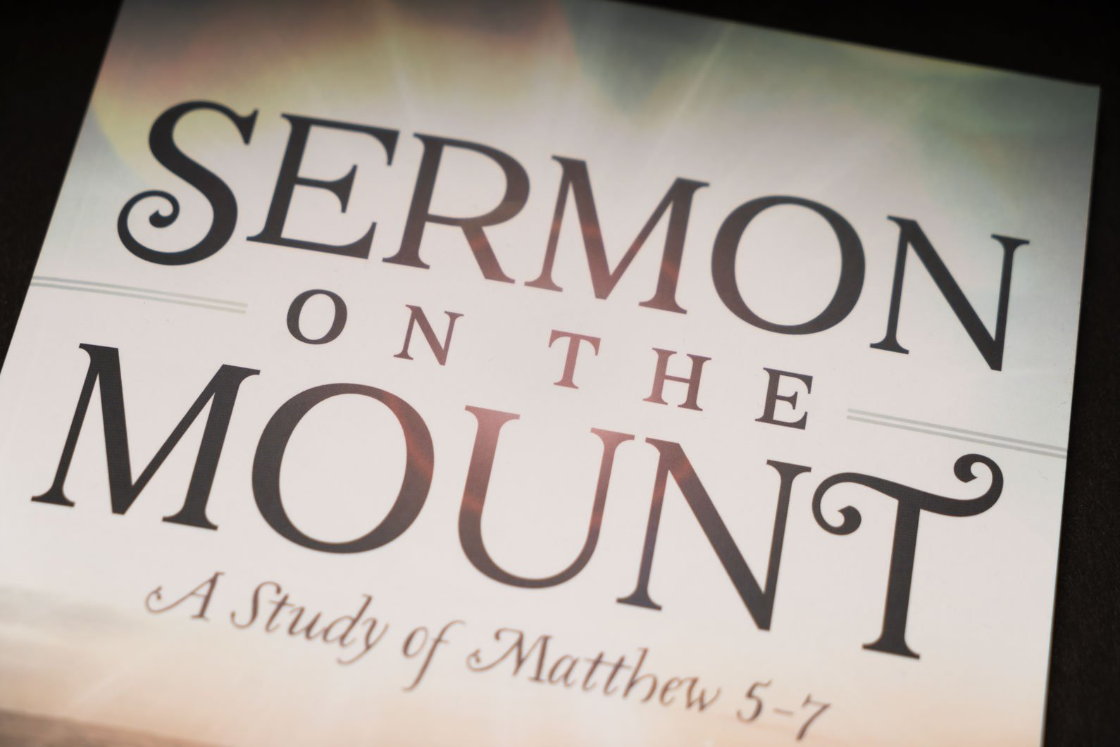 Now Available: Sermon on the Mount